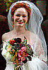 Christina Hendricks's Wedding Makeup