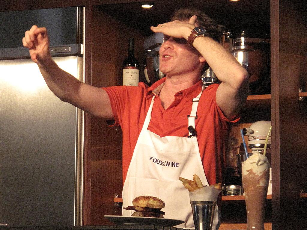 Photos of Bobby's Burger Seminar at 2009 Aspen Food & Wine Classic