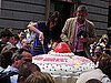 Photos of World's Largest Cupcake in Covent Garden, London, England