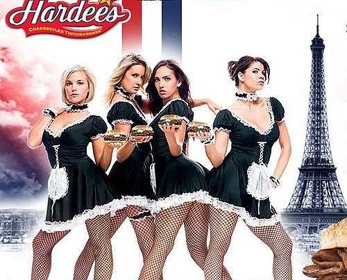 "New Hardee's ""French Maids"" In-Store Campaign"