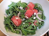 Photos of Watermelon, Feta & Arugula Salad