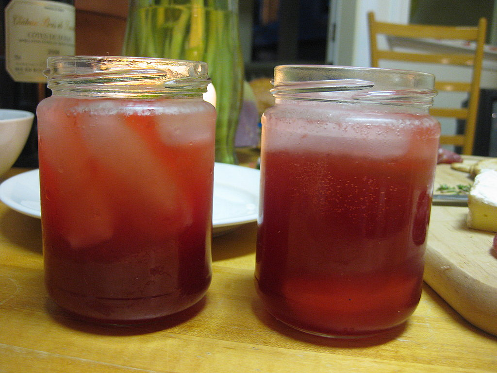 Sour-Cherry Gin Slings