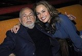The beauty was destined to be in show biz — after all, her grandfather is legendary Hollywood producer Dino De Laurentiis. She poses with him at the afterparty for the New York premiere of Hannibal Rising in January 2007.