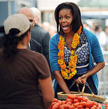 Photos of Inaugural White House Farmers Market