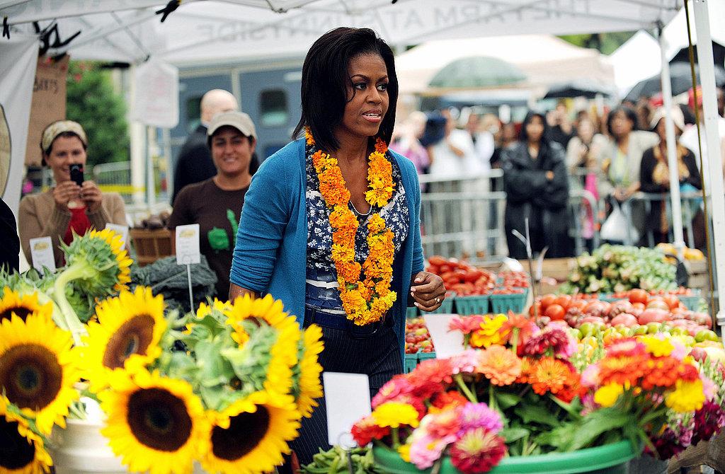 Photos of Inaugural White House Farmers Market