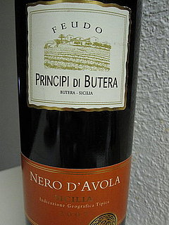 Review of Feudo Principi Di Butera Nero d'Avola