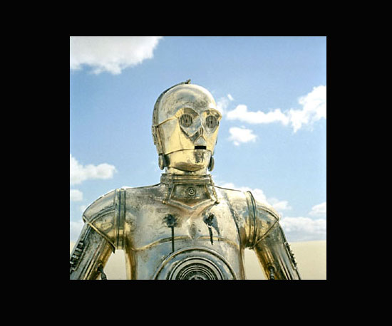 C-3PO (Anthony Daniels) in Star Wars