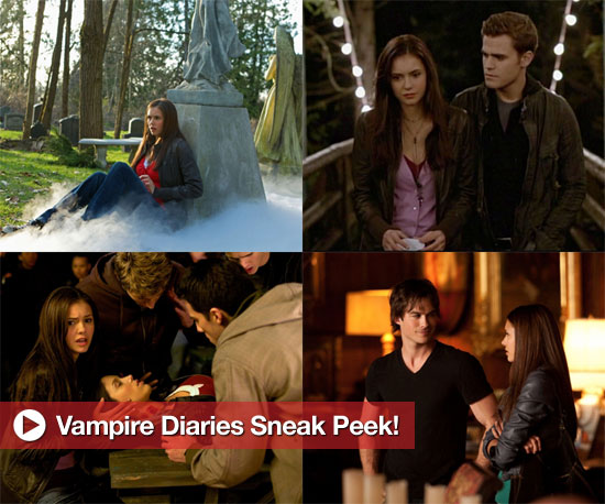 New Photos From The Vampire Diaries