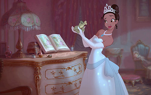 The Princess and the Frog Looks Funny, Happy and Sweet