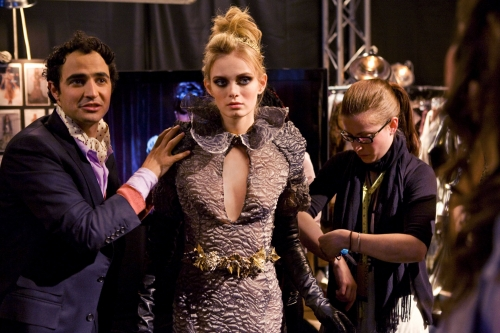Real-life fashion industry types are set to guest on the show, with Zac Posen appearing in the pilot.