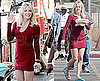 Heather Locklear on the Set of Melrose Place