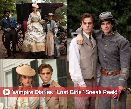 "Photos From the Set of The Vampire Diaries Episode ""Lost Girls"""