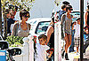 Photos of David, Victoria, Romeo, Brooklyn, Cruz Beckham in French Riviera