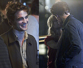 Photos of Robert Pattinson and Emilie de Ravin Kissing on the Set of Remember Me in NYC