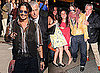 Photos of Johnny Depp on The Late Show