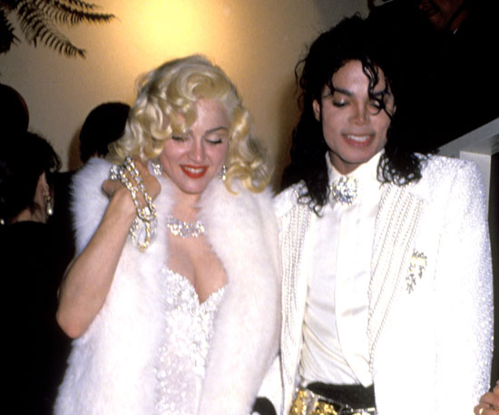 Madonna and Michael hit the Oscars afterparty at Spago's together in 1991.