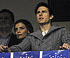Slide Photo of Katie Holmes and Tom Cruise in Melbourne Watching Football