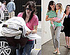 Photos of Jennifer Garner and Seraphina Picking Up Violet Affleck From School