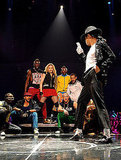 Photos of Madonna Paying Tribute to MJ