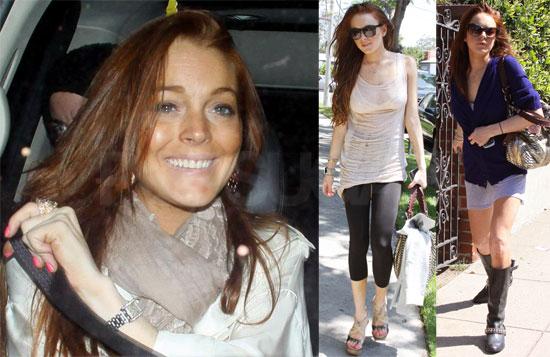 Photos of Lindsay Lohan in LA