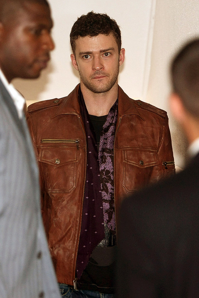 Photos of Justin Timberlake in Germany