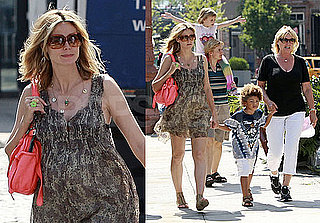 Photos of Heidi Klum With Her Kids In NYC, Trailer Of Project Runway on Lifetime