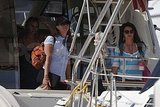 Photos of Britney Spears, Jayden James, Sean Preston on a Boat