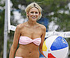 Slide Photo of Stephanie Pratt in a Pink Bikini