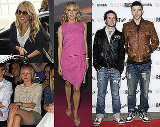 Photos of Justin Timberlake, Diane Kruger and Sienna Miller at 2010 Spring Berlin Fashion Week