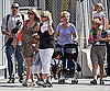 Photo Slide of Heidi Klum and Her Family in NYC
