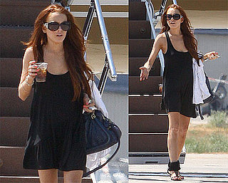 Photos of Lindsay Lohan Back From Vegas
