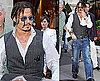 Photos of Johnny Depp Out and About in Paris After a Public Enemies Premiere