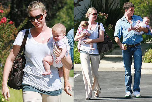 Photos of Rebecca Romijn and Jerry O'Connell With Their Twins Charlie and Dolly