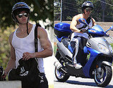 Photos of Kellan Lutz at the Pump