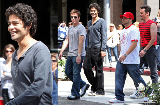 Photos of the Entourage Boys
