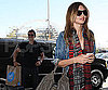 Photo Slide of Orlando Bloom and Miranda Kerr at LAX
