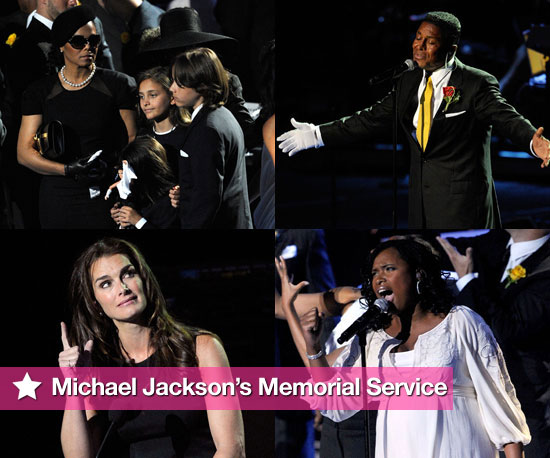 Friends, Family, and Fans Pay Tribute to Michael Jackson
