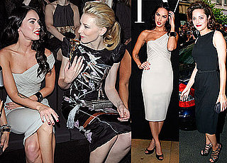 Photos of Elsa Pataky, Megan Fox, Cate Blanchett and Marion Cotillard at the 2009 Fall Paris Haute Couture Shows