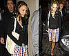Photos of Natalie Portman Leaivng Nobu in London