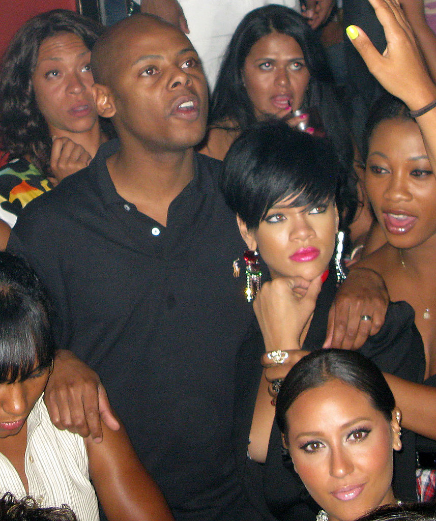 Photos of Rihanna in Bikini, Partying with Jay-Z