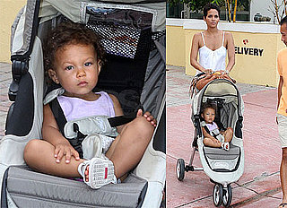 Photos of Halle Berry, Gabriel Aubry, Nahla Aubry in Miami