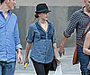 Photo Slide of Scarlett Johansson SIghtseeing in Madrid