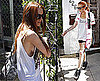 Photos of Lindsay Lohan in White