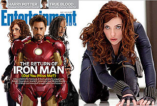 Photos of Entertainment Weekly's Iron Man 2 Cover with Scarlett Johansson as Black Widow