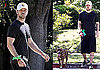 Photos of Justin Timberlake Walking Jessica Biel's Dog