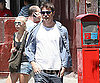 Photo Slide of Josh Hartnett Walking in NYC