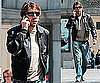 Photos of Javier Bardem at the Nice Airport
