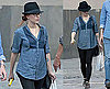 Photos of Scarlett Johanson Sightseeing Around Madrid