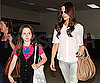 Photo Slide of Kate Beckinsale with Daughter Lily at LAX