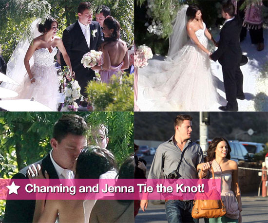Photos of Channing Tatum and Jenna Dewan&#039;s Wedding